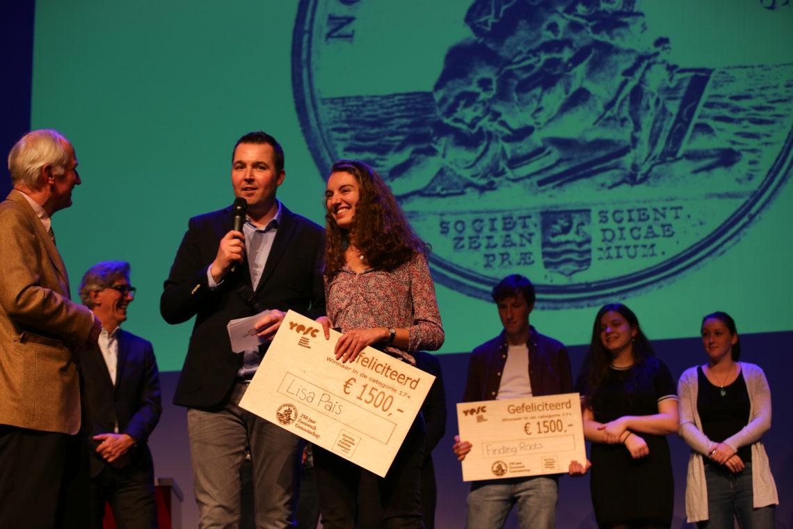 YESC 2019 Prijsuitreiking 17+ - Communiceren over het klimaat met jongeren