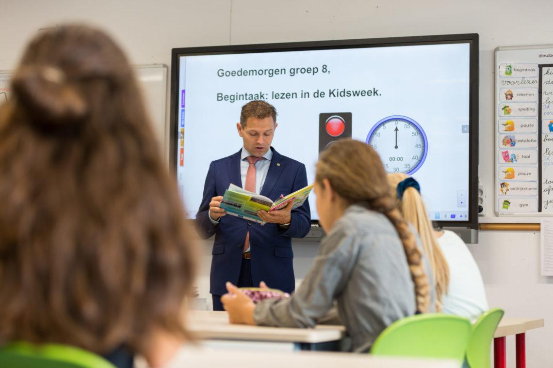 YESC Voorleesactie OBS Leeuwenburch Jo Annes DeBat - Communiceren over het klimaat met jongeren